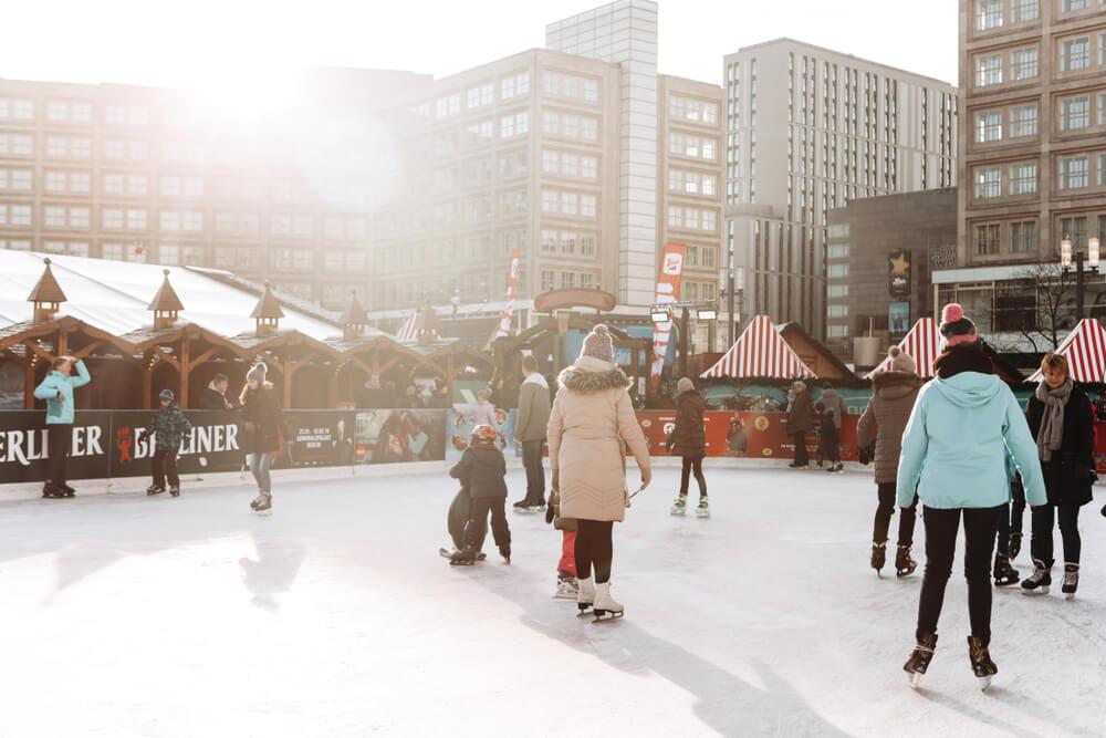 Eislaufen mit Kindern Berlin