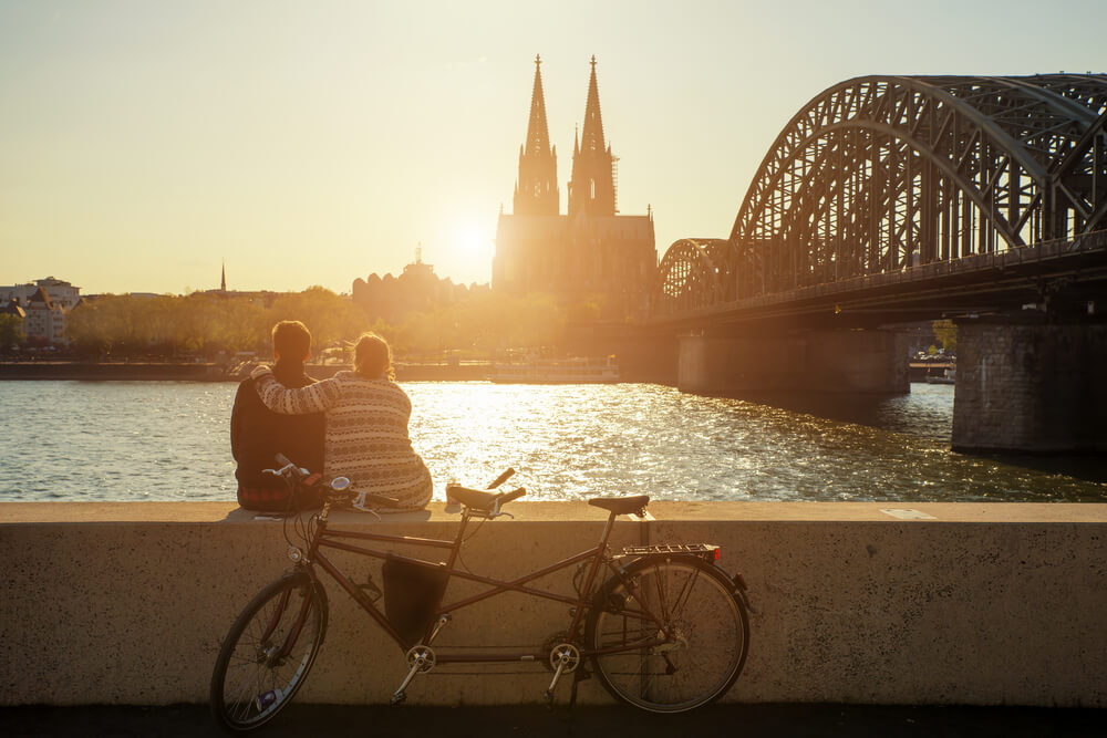 Köln mit dem Fahrrad