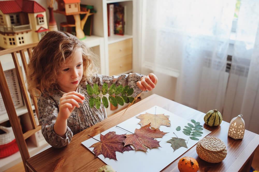 Waldkindergarten basteln